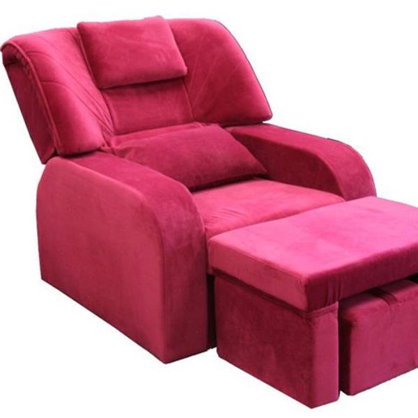 Ghế massage bọc vải nhung êm ái