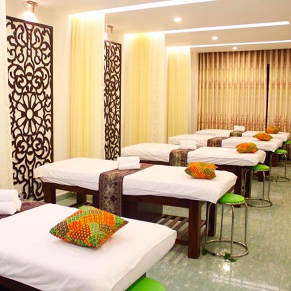 Giường massage gỗ tràm
