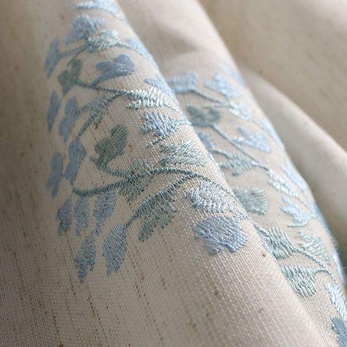 Họa tiết được in thêu trên vải rèm Trung Quốc