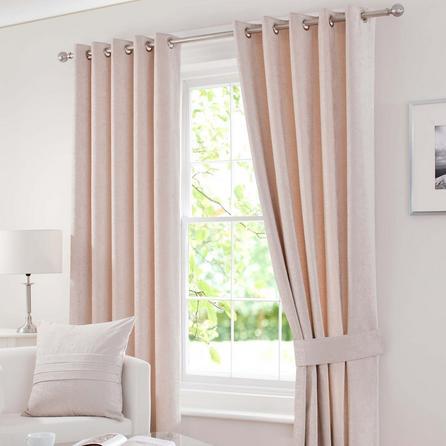 Rèm vải của sổ đơn giản, lịch sự