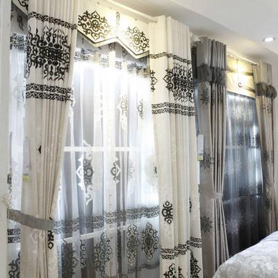 Rèm phòng ngủ họa tiết