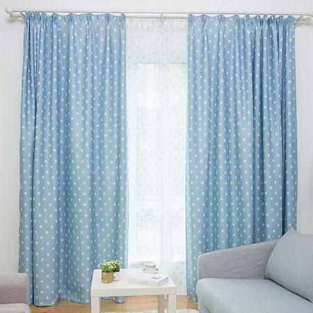 Rèm vải 2 lớp cho cửa sổ